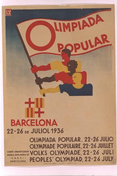Olimpíada Popular: Barcelona, 22-26 de juliol 1936...