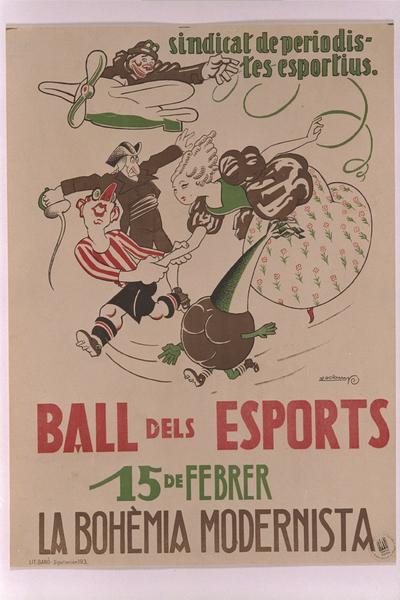 Ball dels esports, 15 de febrer, La Bohèmia Modernista