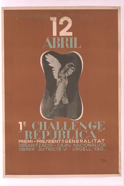 1e Challenge República, premi President de la Generalitat