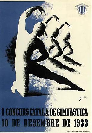 1 Concurs Català de Gimnàstica: 10 de desembre de 1933