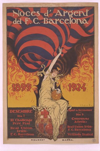 Noces d'argent del F. C. Barcelona 1899-1924