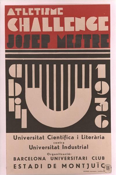 Challenge Josep Mestre: Universitat Científica i Literària contra Universitat Industrial