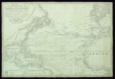 Carta general del Océano Atlántico septentrional