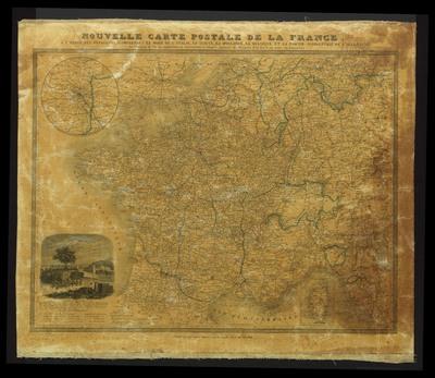 Nouvelle carte postale de la France