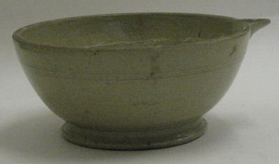 mixing bowl with spout