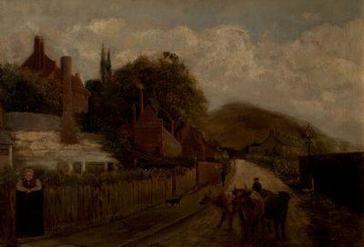 painting (oil): Sneinton Hermitage