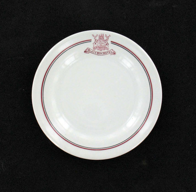 plate: Black Boy Hotel Nottingham