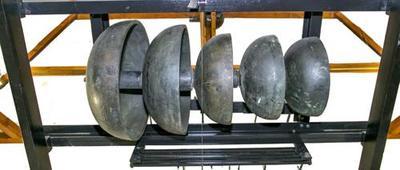 Torenuurwerk (Grahamgang) met 2 slagwerken en kombellen