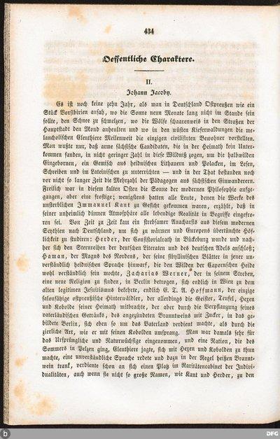 II. Johann Jacoby