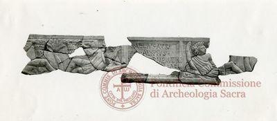 Inscription from Rome, Coem. ad viam Anapo - ICVR IX, 24647