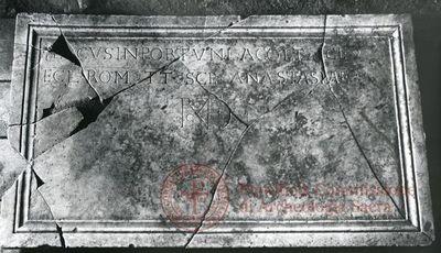Inscription from Rome, Coem. anonymum ad viam Ardeatinam - ICVR IV, 12303