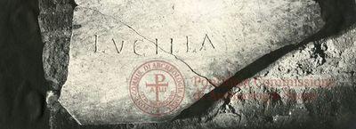 Inscription from Rome, Coem. Domitillae pars inferior - ICVR III, 6803