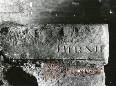 Inscription from Rome, Coem. Bassillae ad s.Hermetem - ICVR X, 26670.1
