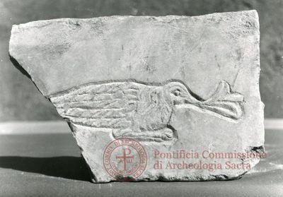 Inscription from Rome, Coem. Bassillae ad s.Hermetem - ICVR X, 26945