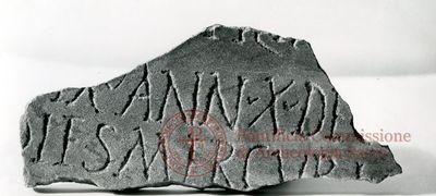 Inscription from Rome, Coem. Iordanorum - ICVR IX, 24570.e