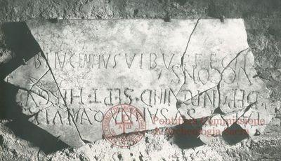 Inscription from Rome, Coem. s.Hippolyti - ICVR VII, 20200
