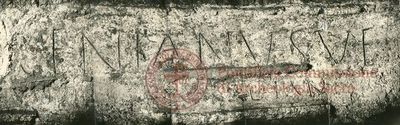 Inscription from Rome, Coem. Novatiani - ICVR VII, 20433
