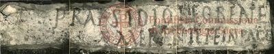 Inscription from Rome, Pars infima coem. Pamphili - ICVR X, 26419