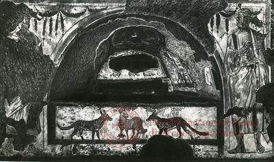 Inscription from Rome, Coem. Praetextati - ICVR V, 14117