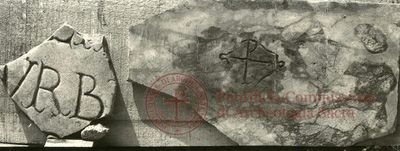 Inscription from Rome, Coem. Praetextati - ICVR V, 15246.a