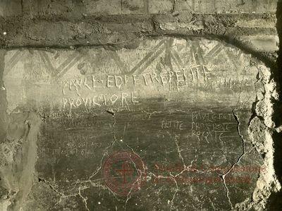 Inscription from Rome, Memoria Apostolorum ad Catacumbas - ICVR V, 13077.a