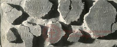 Inscription from Rome, Memoria Apostolorum ad Catacumbas - ICVR V, 12978.a