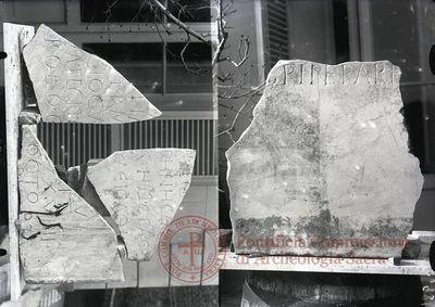 Inscription from Rome, Coem. Pontiani - ICVR II, 4522