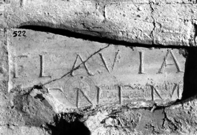 Inscription from Rome, Coem. subdiale ad Catacumbas - ICVR V, 13532.b