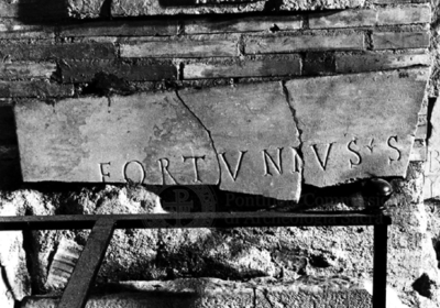 Inscription from Rome, Coem. subdiale ad Catacumbas - ICVR V, 13540