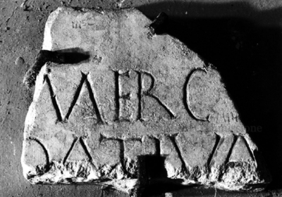 Inscription from Rome, Coem. subdiale ad Catacumbas - ICVR V, 13589.a