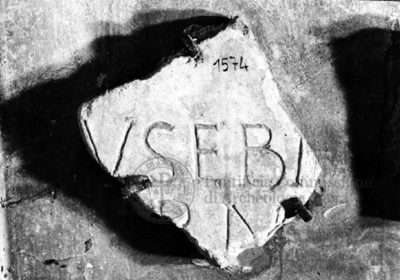 Inscription from Rome, Coem. subdiale ad Catacumbas - ICVR V, 13519.a