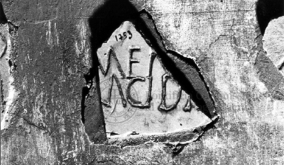 Inscription from Rome, Coem. subdiale ad Catacumbas - ICVR V, 13291