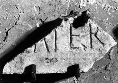 Inscription from Rome, Coem. subdiale ad Catacumbas - ICVR V, 13726.b