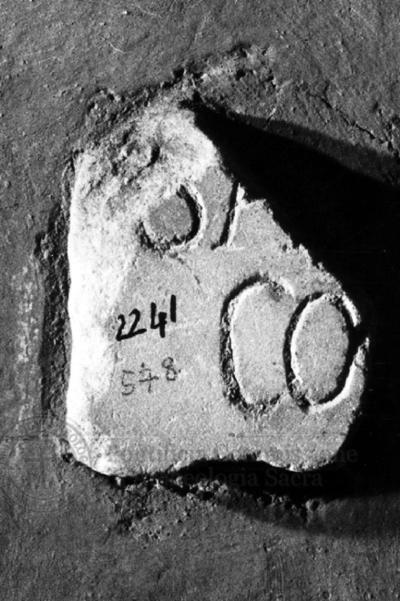 Inscription from Rome, Coem. subdiale ad Catacumbas - ICVR V, 13626.c