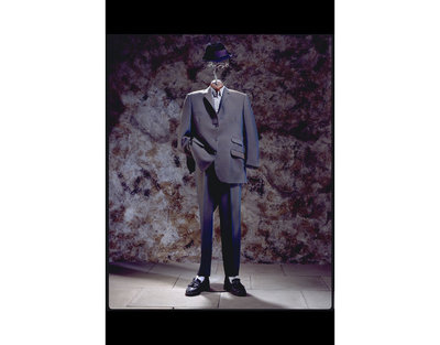 Suit, wool (mohair) Tonik suit, Great Britain, 1960s, part of man's 1979 'Two Tone' outfit (Streetstyle exhibition).