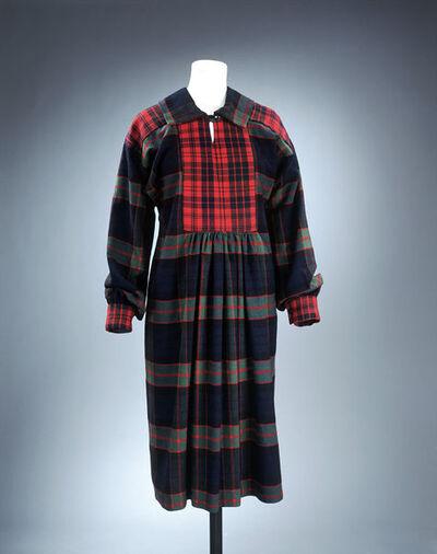 Wool tunic dress, designed by Foale & Tuffin, London, 1970.