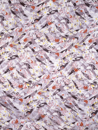Dress fabric of printed rayon, made by Tootal, Broadhurst, Lee & Co., Great Britain, 1935.
