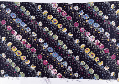 Dress fabric of printed rayon crêpe, made by Calico Printers' Association, Great Britain, 1938.