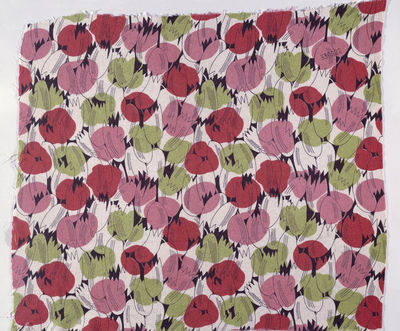 Dress fabric of printed rayon, Calico Printers' Association, Great Britain, 1933.