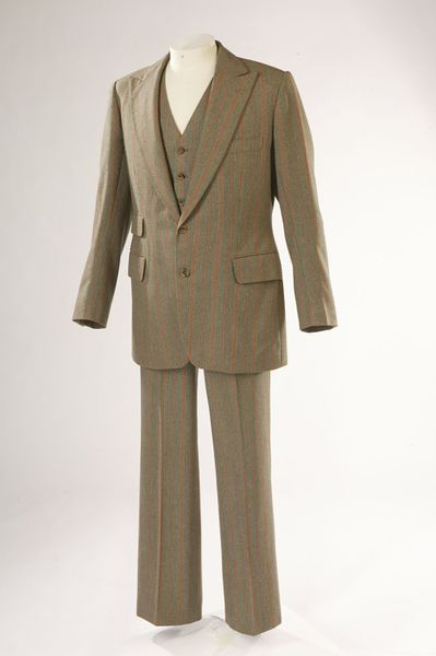 Wool suit, designed by Tommy Nutter, Great Britain, 1969.