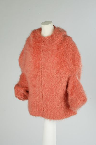 Après ski jacket parka 'Pitlochry' of mohair, retailed by Lida Ascher Boutique, Great Britain, 1960.