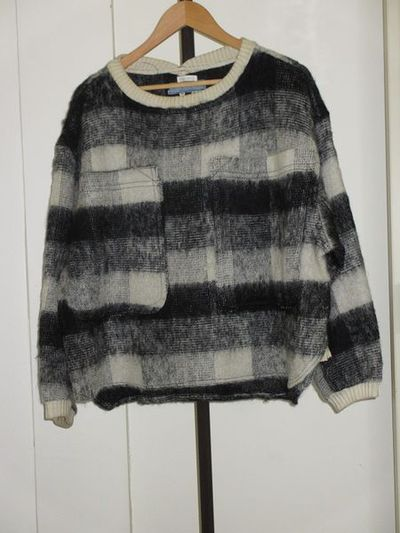 Jumper, mohair, designed by Wendy Dagworthy, Great Britain, 1984.Mohair and nylon.