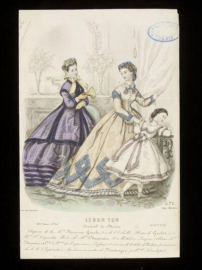 5ca872b71c2 Louis Berlier and Heloïse Leloir. Women s and child s day dresses.  Published by Le Bon