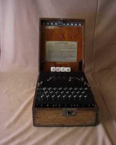 Kodemaskin, chiffer Enigma (H)