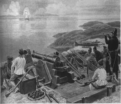 Batterihammaren og Napoleonskrig i Kristiansund