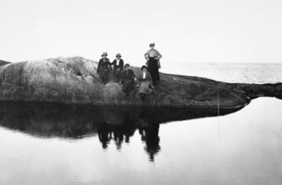 Utflukt på Skorpa for snart 100 år siden