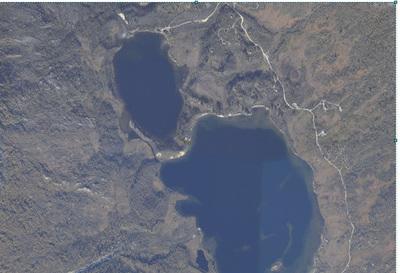 Fangstanlegg mellom Storvatnet og Fiskbuvatnet