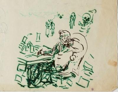 Edvard Munch i krangel med skattevesenet i Vestre Aker