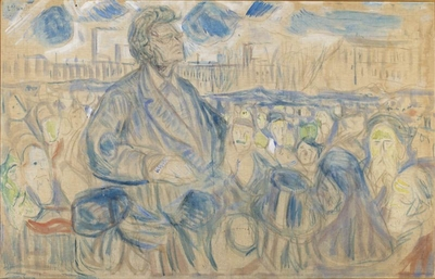 Bjørnstjerne Bjørnson og Edvard Munch i heftig avisdebatt