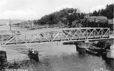Broforbindelse til Odderøya